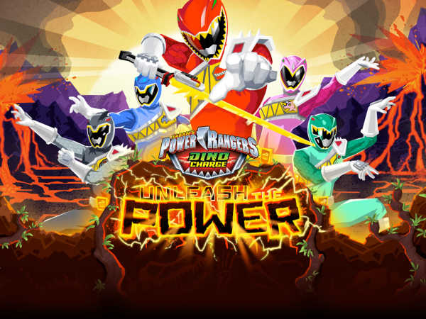 Power Rangers Dino Charge: Unleash The Power! game