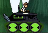 play Ben 10 Tank Battle