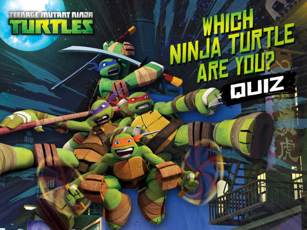 Teenage Mutant Ninja Turtles: Which Ninja Turtle Are You? game