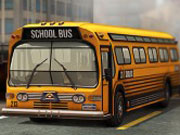 3D Parking School Bus Mania game