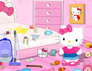 Hello Kitty Messy Room game