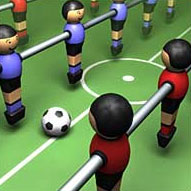 World Cup Foosball game