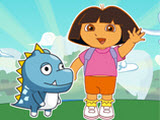 play Dora Save Baby Dinosaur