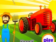 Farm Tractors Wash And Repair game