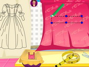 Rapunzel Prom Dress Design game