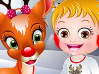 play Baby Hazel Reindeer Surprise