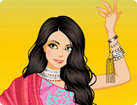Bollywood Dancer Dress Up game