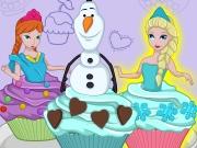 play Cutezee Cooking Academy: Elsa Cupcakes