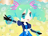 Project Diva Dress Up game