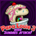 play Papa Louie 3 – When Sundaes Attack