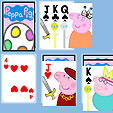 Peppa Pig Solitaire game