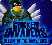 play Chicken Invaders 5: Cluck Of The Dark Side