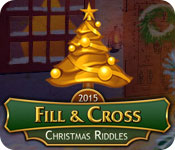 play Fill And Cross Christmas Riddles