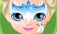 Baby Frozen Face Painting game