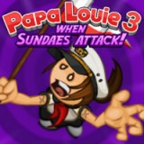 play Papa Louie 3 When Sundaes Attack!