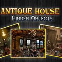 Antique House - Hidden Objects game