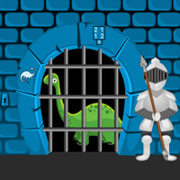 play Dino Castle Escape