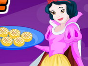play Snow White Cooking Pumpkin Scones