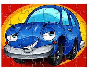 play Funny Car Parking Puzzle