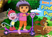 play Dora The Explorer Find Those Puppies