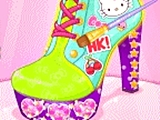 play Hello Kitty Shoes Designer