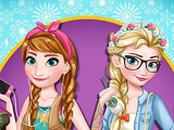 Modern Frozen Sisters game