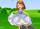 play Sofia The First Roller Skating