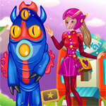 Honey Lemon And Fred Dress Up game