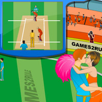 play Cricket World Cup Kiss
