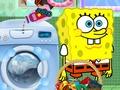 play Spongebob And Patrick Star Washing Pants