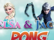 Elsa And Jack Pong game