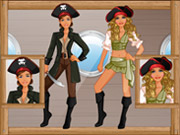 Makeover Studio - Pirate Girl