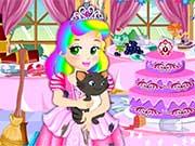 play Princess Juliet Castle Party