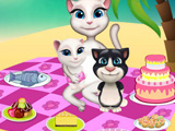 Talking Angela Picnic Day game