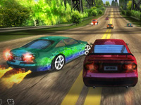 High Speed 3D Racing game