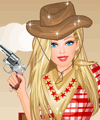 Sheriff Barbie Dress Up game