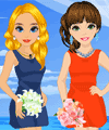 Bridesmaids Sisters Dress Up game