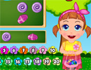 Baby Seven Candy Counting game