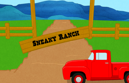 Sneaky Ranch game
