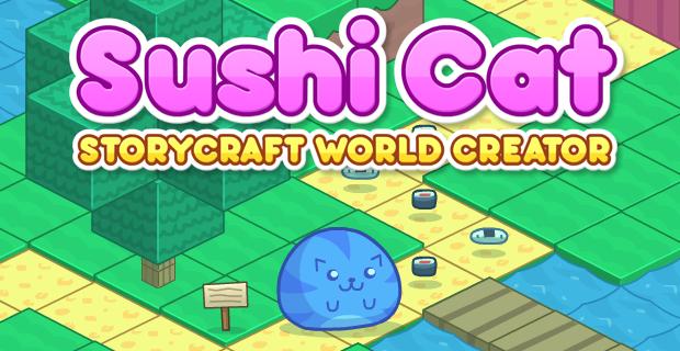 play Sushi Cat: Storycraft World Creator