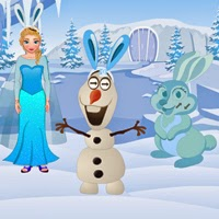 Wow Elsa Easter Escape game