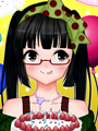 Anime Happy Birthday Card Maker game