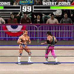play Wwf Wrestlemania Arcade