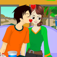 play Happy Mood Kissing