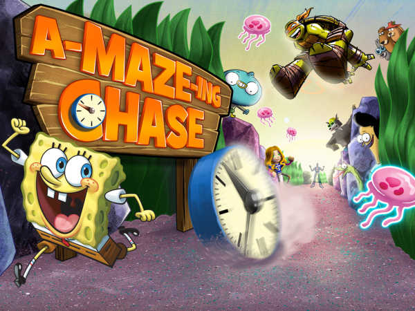 Nickelodeon: The A-Maze-Ing Chase game