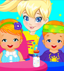 play Polly Twins Baby Sitter