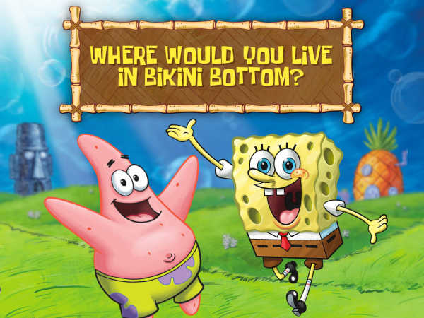 Spongebob Squarepants: Where Would You Live In Bikini Bottom? game