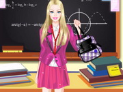 play Barbie Back To School Dress Up
