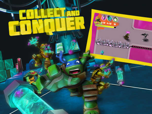 Teenage Mutant Ninja Turtles: Collect And Conquer game