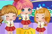 Baby Alice Science Project game